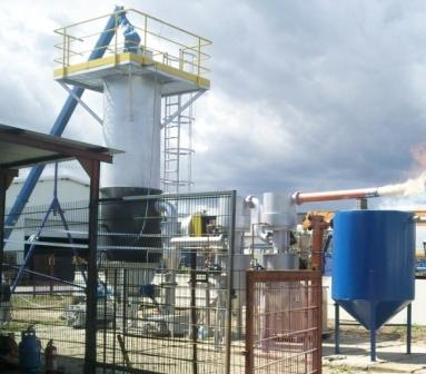 Solid-fuel gas generator